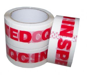 48mm x 66m Printed QC Inspected Low Noise Tape